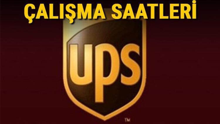 UPS Kargo cumartesi ve hafta sonları açık mı? UPS Kargo 2021 çalışma saatleri
