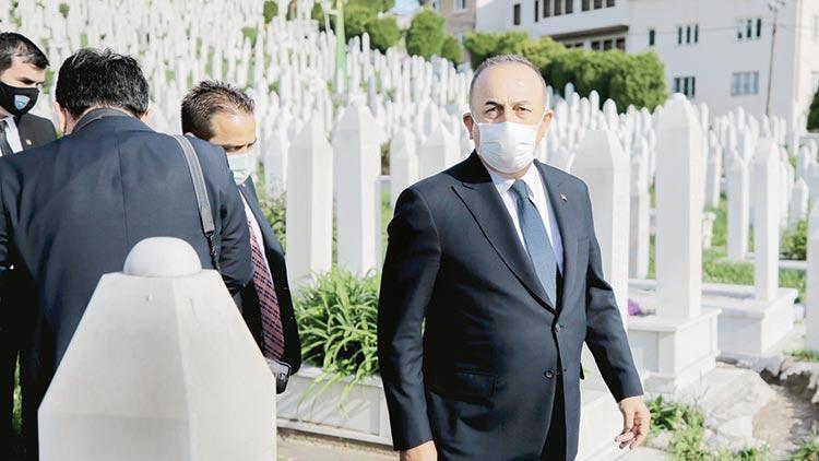 Çavuşoğlu'dan Avrupa'ya Bosna Hersek uyarısı