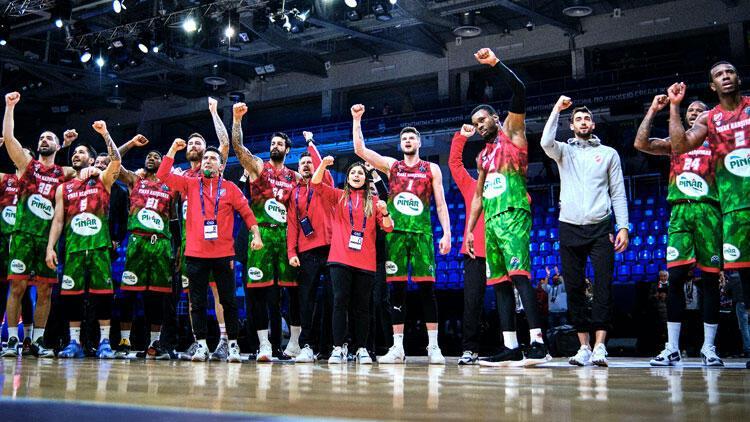 Pınar Karşıyaka, FIBA Şampiyonlar Ligi'nde yarı finale çıkıyor