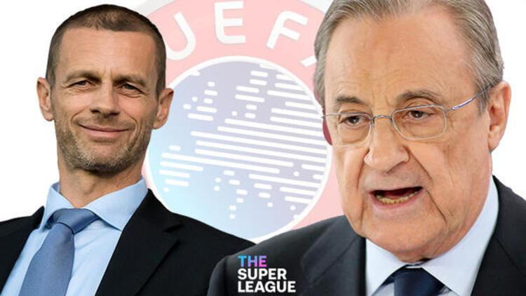 Son dakika: Avrupa Süper Ligi'ne katılan takımlara men cezası yolda! UEFA...