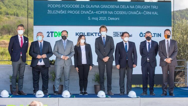 Yapı Merkezi, Slovenya'nın en büyük inşaat projesinde yer alacak