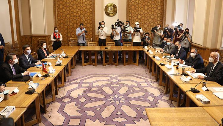 Türkiye - Mısır görüşmeleri tamamlandı! Dışişleri'nden ilk açıklama geldi