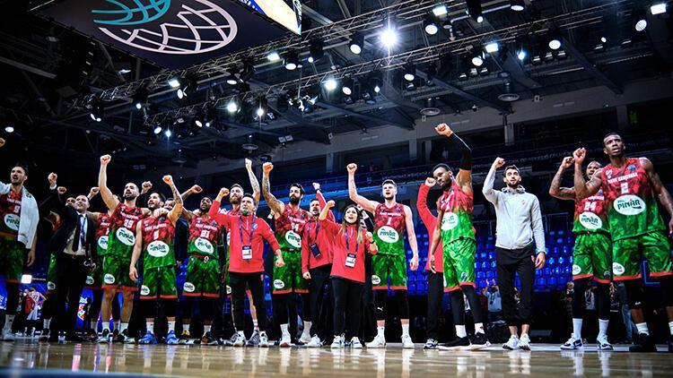 FIBA Şampiyonlar Ligi'nde yarı finalistler belli oldu! İşte Pınar Karşıyaka'nın rakipleri...