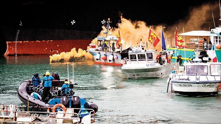 Mans Denizi'nde Brexit krizi