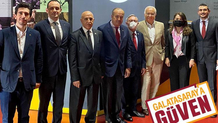 Son dakika: Eşref Hamamcıoğlu, Galatasaray başkanlığı resmen aday oldu! Listesi...