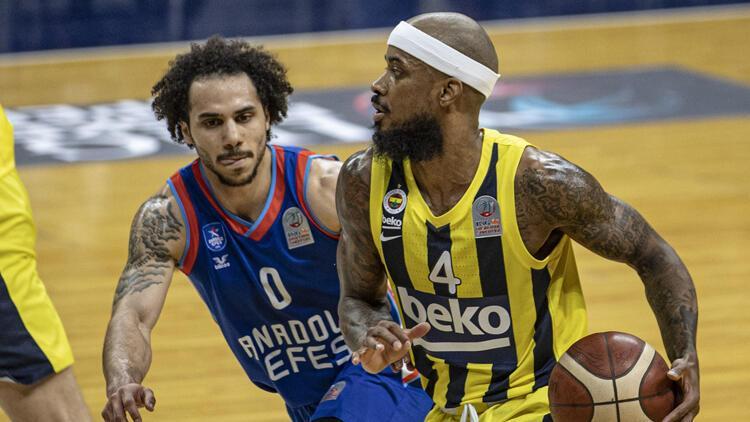 Fenerbahçe Beko 84-88 Anadolu Efes / Maç sonucu