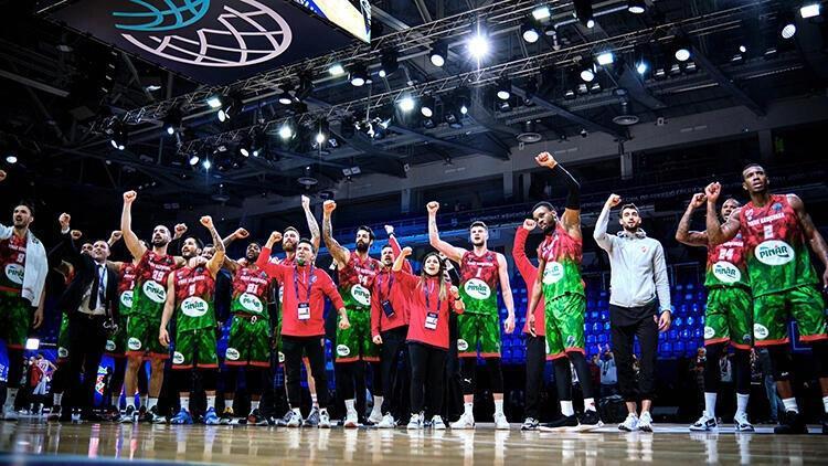 Son Dakika: Pınar Karşıyaka, FIBA Şampiyonlar Ligi'nde finale yükseldi