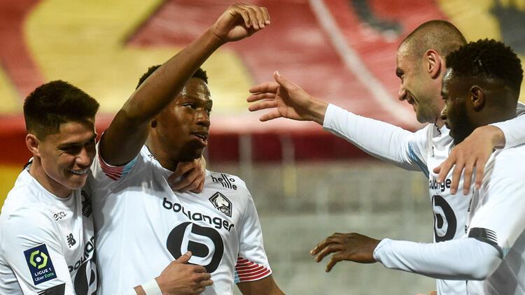 Burak Yılmaz'ın şov yaptığı maçta Lille, Lens'i 3-0 mağlup etti / Maç özeti