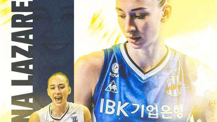 Fenerbahçe Opet Kadın Voleybol Takımı, Anna Lazareva'yı kadrosuna kattı