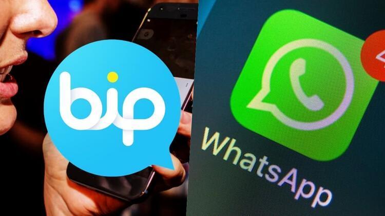 İletişim platformları karşı karşıya geldi: WhatsApp mı BiP mi?