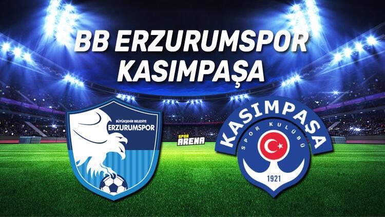 BB Erzurumspor Kasımpaşa maçı saat kaçta, hangi kanalda?