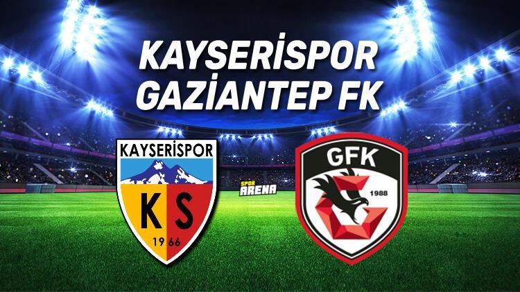 Kayserispor Gaziantep FK maçı saat kaçta, hangi kanalda?