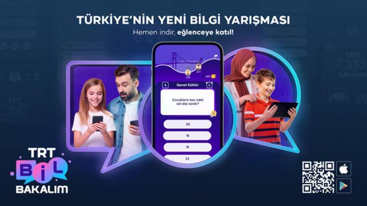 """""""TRT Bil Bakalım"""" zirveye yerleşti"""