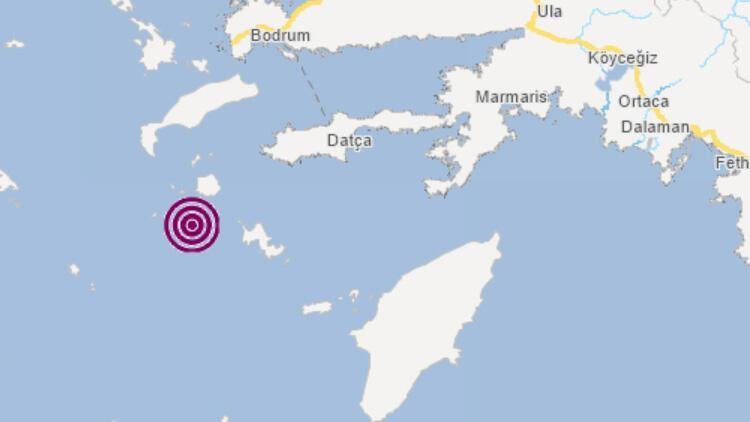 Son dakika... Muğla'nın Datça ilçesi açıklarında 4,0 büyüklüğünde deprem!