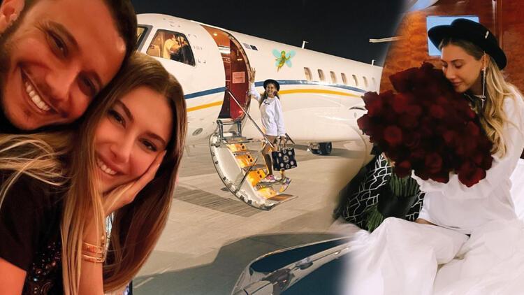 Şeyma Subaşı'nın Mısırlı milyarder sevgilisi Mohammed Alsaloussi kesenin ağzını açtı... Meedo'dan Şeyma'ya özel jet!