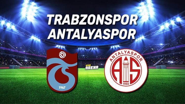 Trabzonspor Antalyaspor maçı saat kaçta, hangi kanalda?