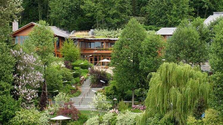 İçinin fotoğrafını çekebilen olmadı! Bill Gates'in 131 milyon dolar değerindeki gizemli evi