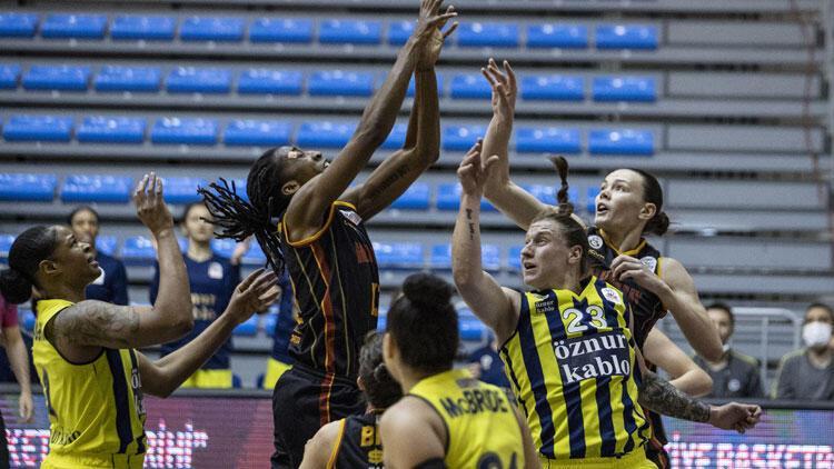 Fenerbahçe Öznur Kablo 70-57 Galatasaray (Fenerbahçe seride 2-0 öne geçti)
