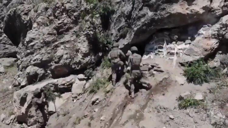 MSB paylaştı: 'Teröristleri inlerinde basmaya devam ediyoruz!'