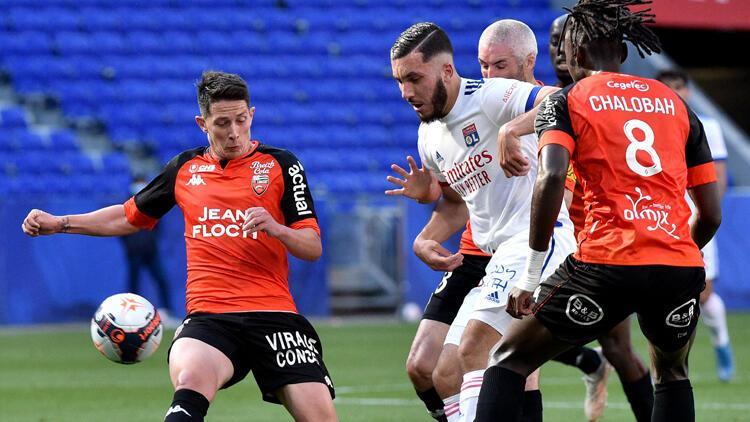Fransa liginde Olympique Lyon farklı kazandı
