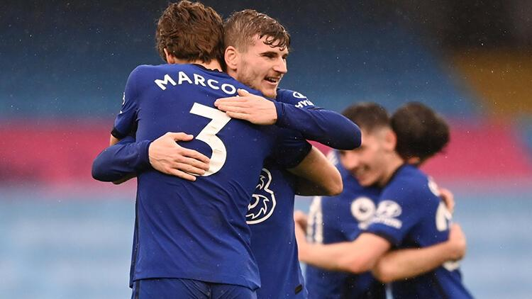 Manchester City 1 - 2 Chelsea (Maç özeti)