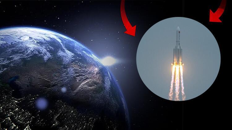 NASA'dan sert açıklama: Çin roketinin düştüğü yer belli oldu!
