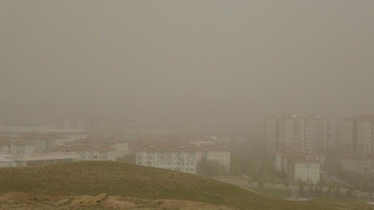 Aksaray'da kum fırtınası sonrası hasar tespiti yapılacak