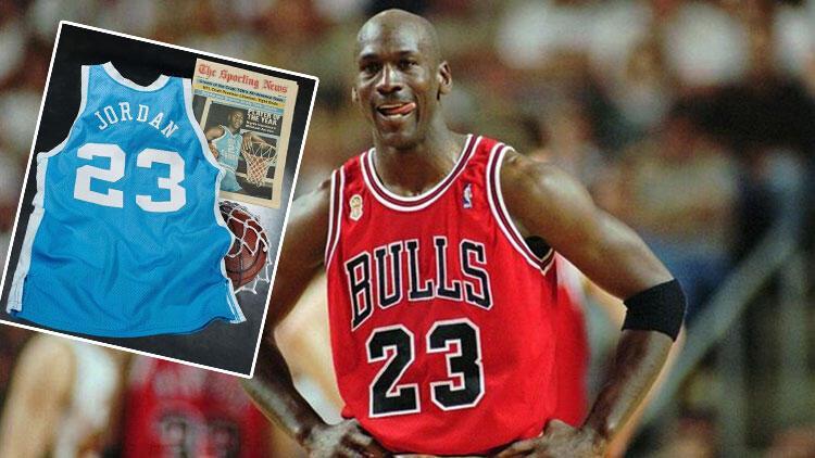 Michael Jordan'ın üniversitede giydiği forma 1,38 milyon dolara satıldı