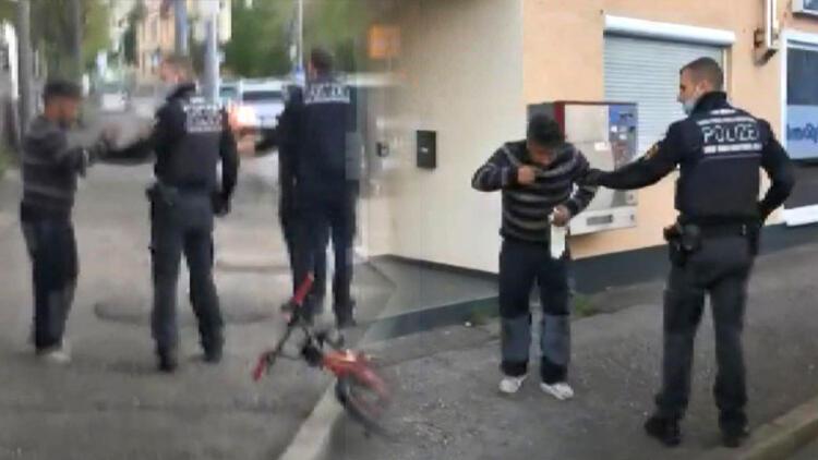 Kazada yaralanan kızının yardımına koşan babaya biber gazı