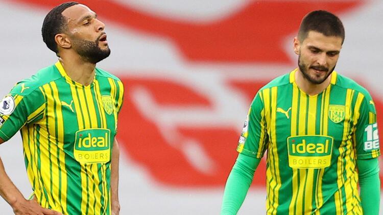 Okay Yokuşlu ve Mbaye Diagne'nin forma giydiği West Bromwich Premier Lig'e veda etti