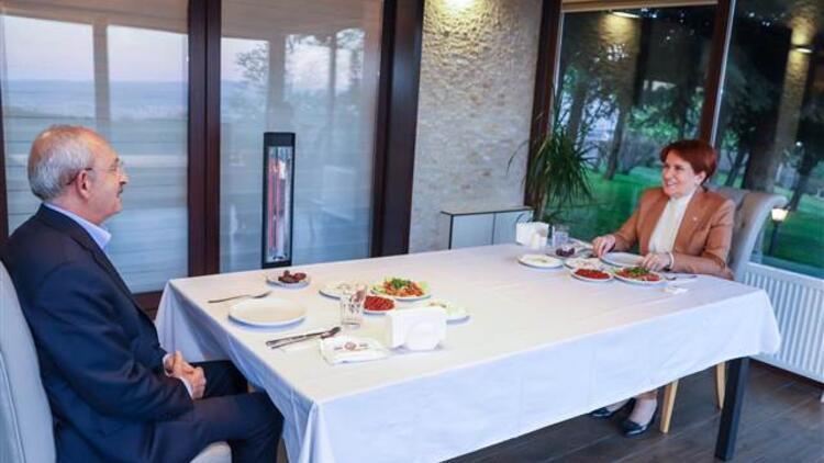 Kılıçdaroğlu ve Akşener iftarda buluştu