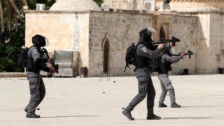 Son dakika... İsrail polisinin Filistinlilere müdahalesine Türkiye'den tepki yağıyor