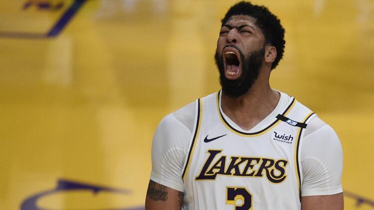 NBA'de Gecenin Sonuçları: Anthony Davis'ten 42 sayı! Lakers, Suns'ı 123-110 yendi...
