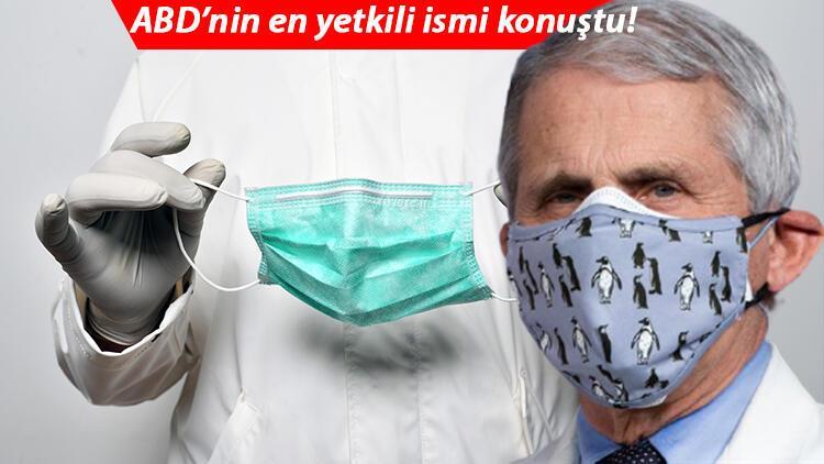 Son dakika haberler... ABD'nin en yetkili ismi koronavirüste normalleşme tarihini açıkladı ve uyardı: Maske kullanımı mevsimsel olarak devam etmeli!