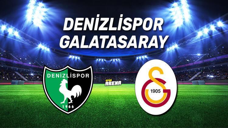 Denizlispor Galatasaray maçı ne zaman, saat kaçta? İşte karşılaşma öncesi istatistikler..