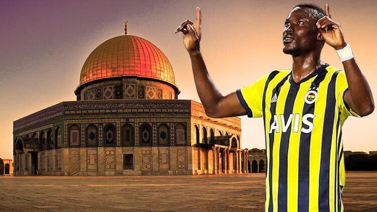 "Fenerbahçeli futbolcu Mame Thiam: ""Kalbim seninle Mescid-i Aksa"""