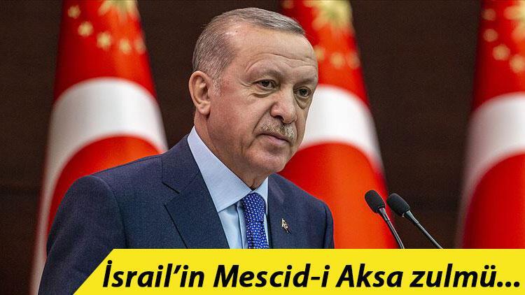 Son dakika haberi... Cumhurbaşkanı Erdoğan'dan Filistin için diplomasi trafiği