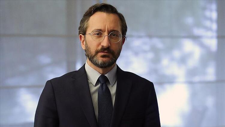 Cumhurbaşkanlığı İletişim Başkanı Fahrettin Altun'dan İsrail'in çarpıtmalarına sert tepki