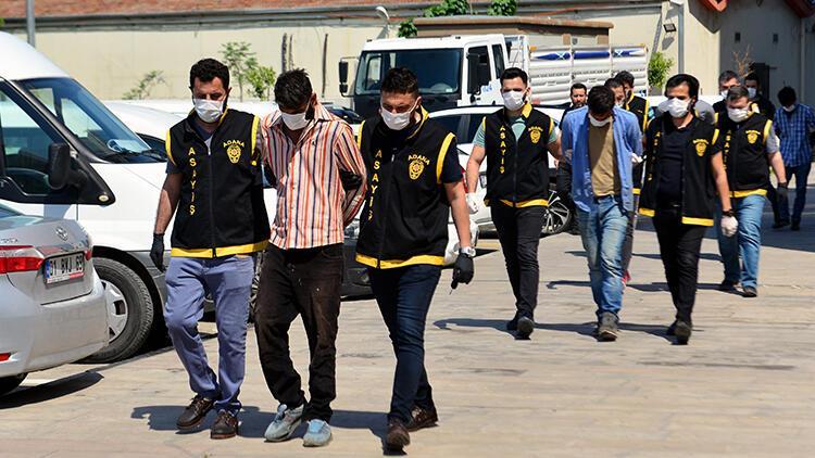 Adana'da 6 hırsızlık şüphelisi yakalandı