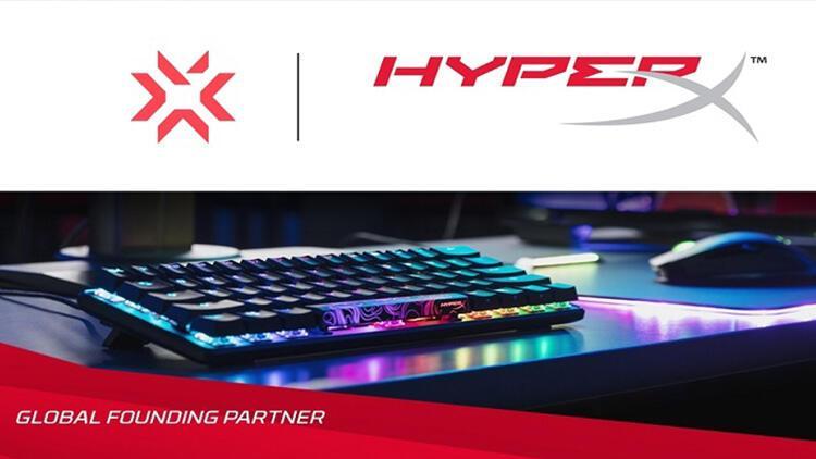 HyperX, VALORANT Şampiyonlar Turu'nun Global Kurucu Ortağı Oldu