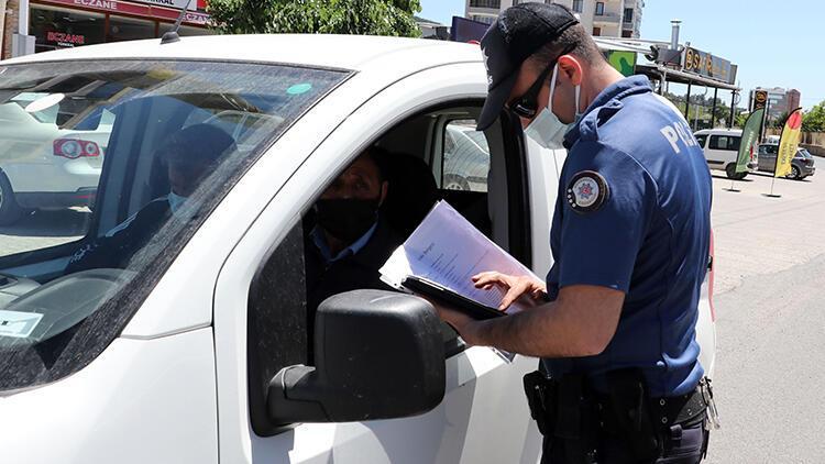 Keşanda sürücüler denetlendi, e-Devlet izin belgesi hatırlatıldı