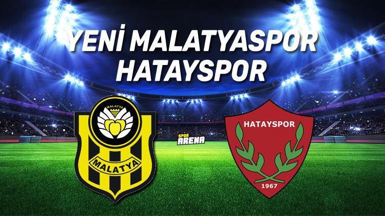 Yeni Malatyaspor Hatayspor maçı saat kaçta, hangi kanalda?