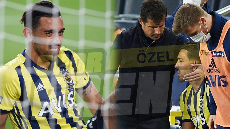 Fenerbahçe'ye Sivasspor maçında kötü haber! İrfan Can Kahveci sakatlandı
