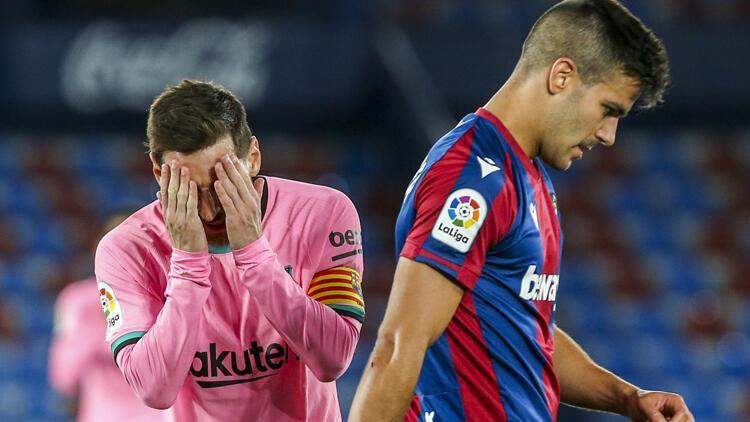 Levante 3-3 Barcelona / Maç sonucu