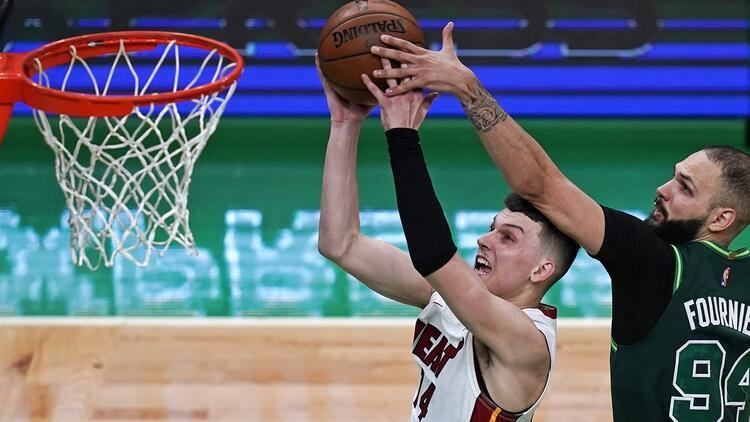 NBA'de Gecenin Sonuçları: Celtics'i mağlup eden Heat, play-off biletini kaptı