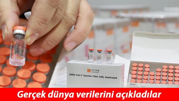 Son dakika haberler: Sinovac aşısının gerçek dünya verileri açıklandı! İşte Türkiye'nin de kullandığı aşının etki oranı