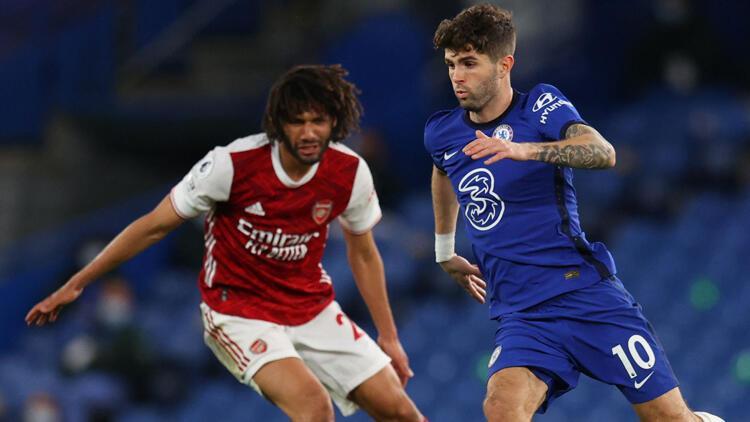 Londra derbisinde Arsenal, Chelsea'yi tek golle yendi