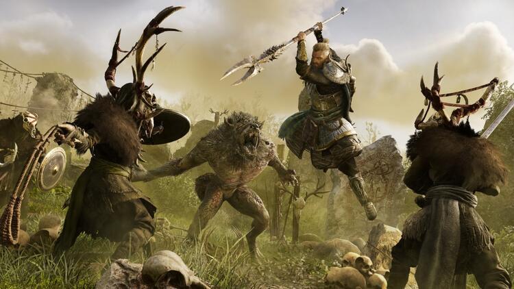 Assassin's Creed Valhalla: Wrath of the Druids oyunculara sunuldu