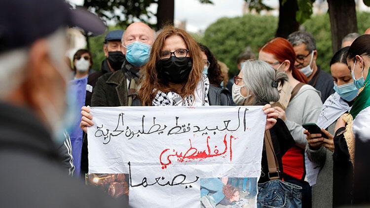 Fransa'dan Filistin'e destek gösterilerine yasak kararı!