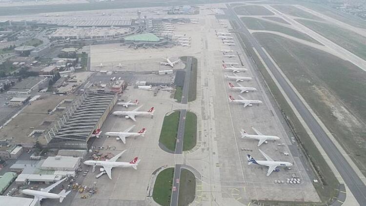 Atatürk Havalimanı'nda panik anları! Acil iniş yaptı